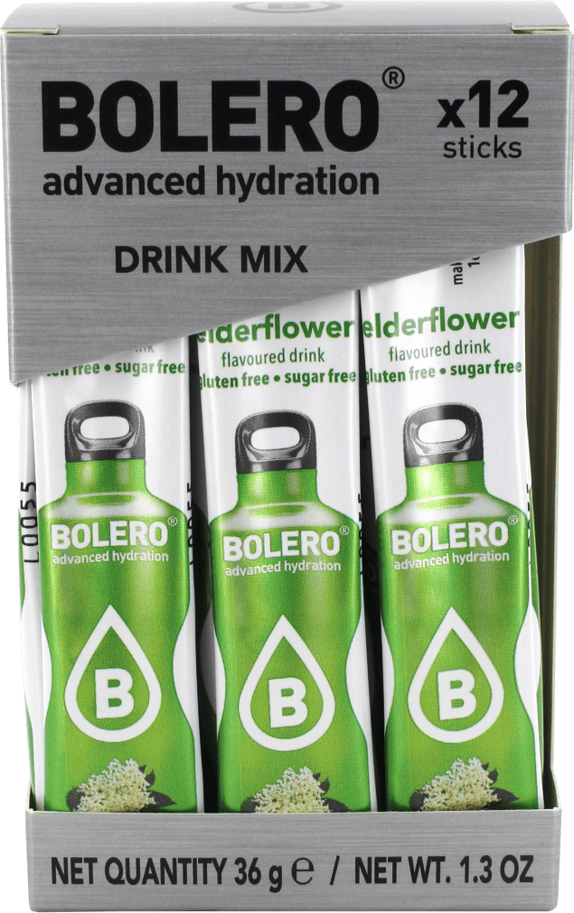 bolero box-sticks-elderflower_face Bolero drink Stick květ černý bez 12x3g