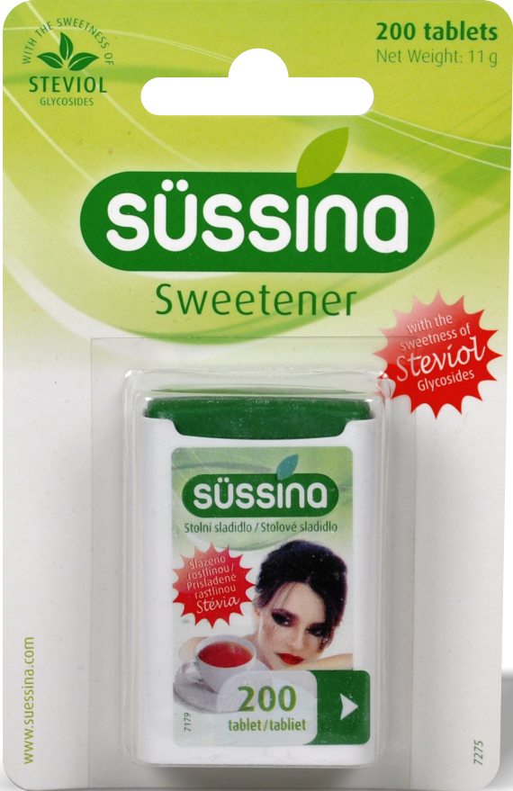 sussina_stevia_200_tablet Süssina Stevia 200 tablet