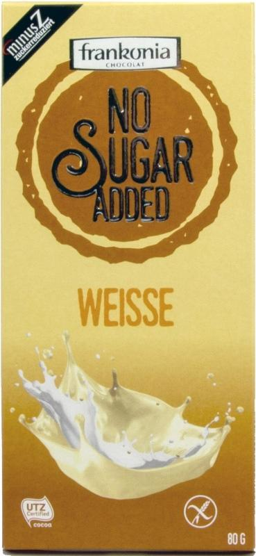 weisse Frankonia chocolat no sugar added weisse 80g